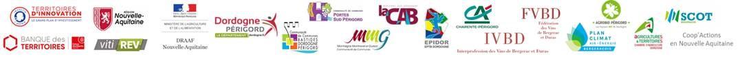 Acteurs membres du consortium La Fabrique des Transitions en Bergeracois